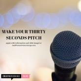 30 second pitch